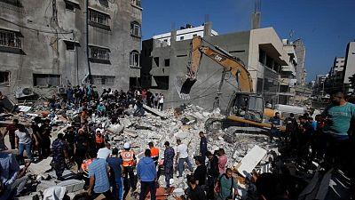 إسرائيل: استهداف أنفاق للمسلحين في غزة أدى لانهيار منازل ومقتل مدنيين