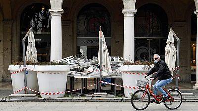 إيطاليا تسجل 93 وفاة جديدة بفيروس كورونا و5753 إصابة