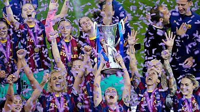 El Barcelona vence al Chelsea y gana la final de la Liga de Campeones femenina