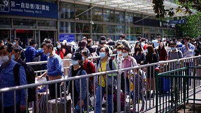 الصين تستخدم 406.94 مليون جرعة لقاح في تطعيم سكانها حتى 16 مايو