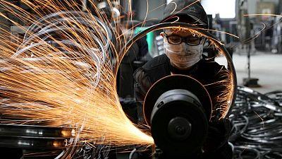 La producción de las fábricas de China se ralentiza por los cuellos de botella