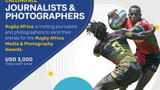 Photo News Release: Call For Entries - Rugby Africa's Inaugural Media & Photography Awards