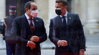 بيان لقصر الإليزيه: فرنسا ومصر تعملان على وقف إطلاق النار في غزة
