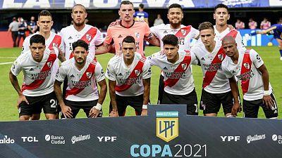 Argentino River Plate sufre 20 bajas por coronavirus y no juntaría equipo para partido de Libertadores