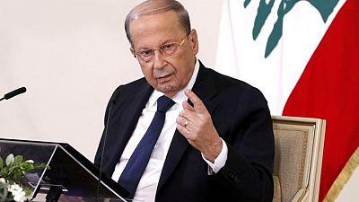 الرئيس اللبناني: تصريحات وزير الخارجية عن دول الخليج تعبر عن رأيه الشخصي