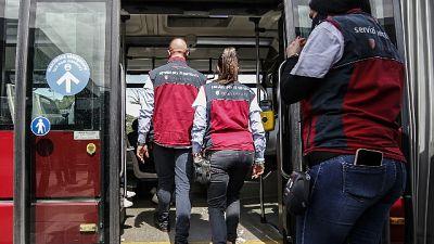 Servizio fermo per norme pandemia. Atac,più forte lotta evasione
