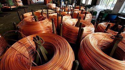 Demanda de cobre aumentará 3,3% en 2022 tras salto de 4,9% este año: IWCC