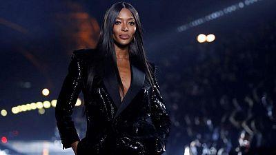 La modelo Naomi Campbell anuncia que ha sido madre a los 50 años