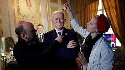 Museo de cera de París retira a Trump y coloca a un Biden sonriente en reapertura