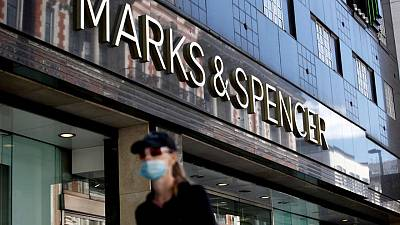 Britain's M&S promotes food and strategy bosses in top team shake-up