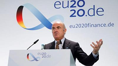 ECB's de Guindos says credit still cheap at current yield level