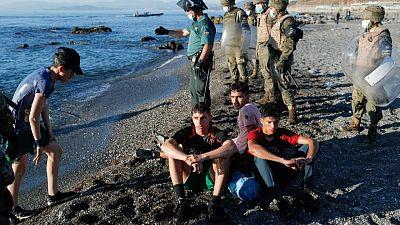 España acelera las expulsiones de Ceuta tras remitir la llegada de migrantes de Marruecos