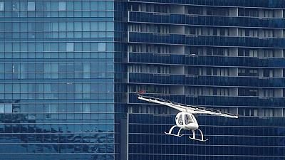 Europe regulator sees first flying taxis in 2024 or 2025