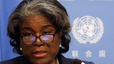 أمريكا تدافع في الأمم المتحدة عن جهودها لوقف إطلاق النار في الشرق الأوسط