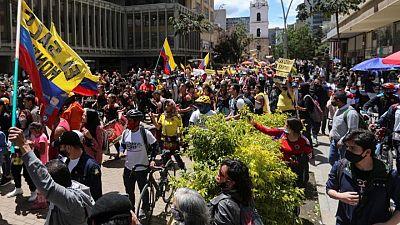 Manifestaciones en Colombia entran en su cuarta semana sin que se vislumbre acuerdo