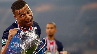 Mbappé brilla y lleva al PSG a ganar la Copa de Francia