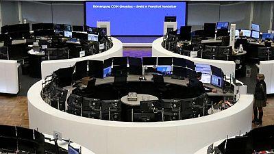 Acciones europeas suben tras alentadoras ganancias corporativas, actividad fusiones y adquisiciones
