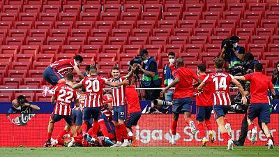 El Atlético aspira a frustrar las esperanzas del Madrid y alzarse con La Liga