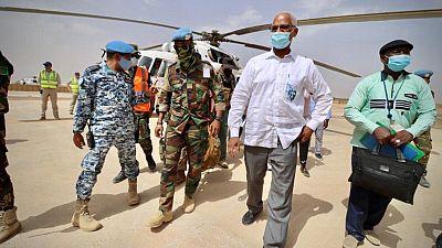 Le Chef de la MINUSMA au contact des autorités, des populations et acteurs-clés de Kidal