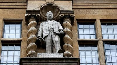 Rhodes will not fall: Oxford college to retain statue