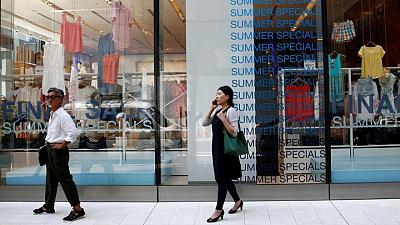Japan's consumer prices extend falls as cellphone fee cuts offset input costs