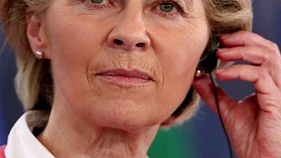 رئيسة المفوضية الأوروبية تحث إسرائيل وحماس على تعزيز التهدئة