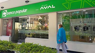 Utilidad neta de colombiano Grupo Aval sube 7,85% en primer trimestre