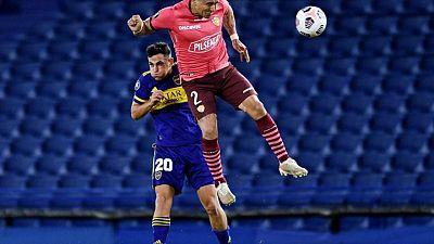 Barcelona de Ecuador iguala con Boca Juniors y avanza a octavos de final en la Libertadores