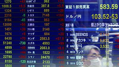 MERCADOS GLOBALES-Futuros de Wall Street avanzan tras una semana turbulenta