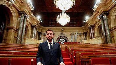 El independentista Pere Aragonès es elegido jefe de Gobierno en Cataluña