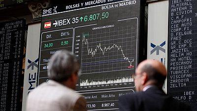 La bolsa española retoma los 9.200 puntos animada por los datos macroeconómicos