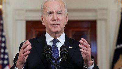 Biden hails ceasefire, vows U.S. will help Gaza with humanitarian aid