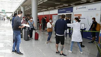 Spain to let vaccinated travellers from non-EU countries in from June 7