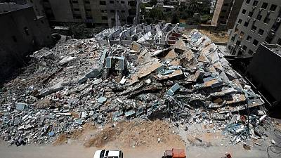 'Like a tsunami': Gazans emerge to see the damage after fighting ends