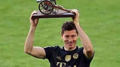 Lewandowski rompe el récord de Müller con un gol en el cierre de la Bundesliga