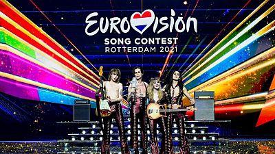فرقة مانسكين الإيطالية تفوز بجائزة يوروفيجن للأغنية