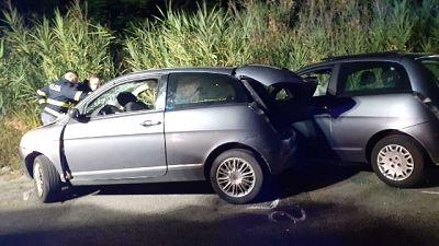 Il fatto nella serata di ieri a Vibo Valentia.Due persone ferite