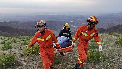 Superviviente del ultramaratón en China es rescatado por un pastor y refugiado en una cueva