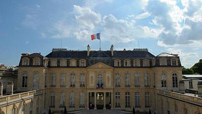 Heavy metal rocks French President's palace after YouTube bet