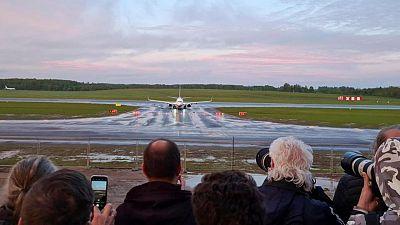 U.S. finalizes Belarus air travel restrictions after aircraft diversion