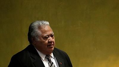 Ousted Samoa PM refuses to cede power, despite election loss