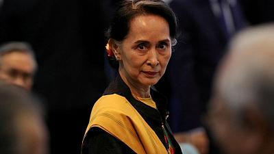 Myanmar's Suu Kyi appears in court in person for first time since coup