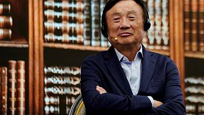 Huawei founder urges software push to counter U.S. sanctions
