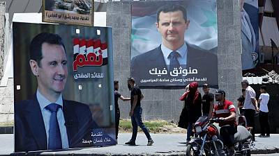 Scion of a dynasty, Assad rules over shattered Syria
