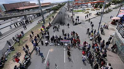 Colombia government, strike committee reach 'pre-agreement' in protest talks