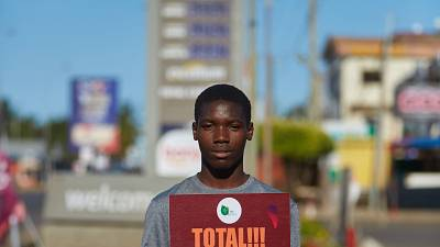 Hundreds protest against TOTAL across Africa