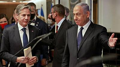 بلينكن: أمريكا تتشاور مع إسرائيل بشأن محادثات إيران النووية