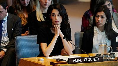 Amal Clooney calls for more charges against Darfur suspect
