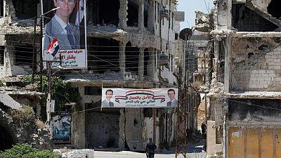 حمص المعقل السابق للمعارضة السورية تستعد للتصويت في انتخابات الرئاسة