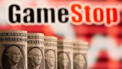 GameStop jumps more than 16% as 'meme' stocks roar higher